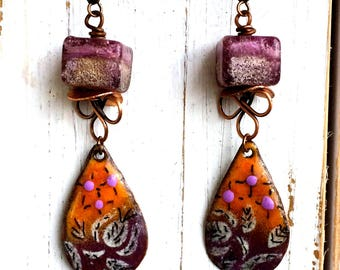 Salted Autumn Earrings