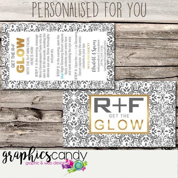 Rodan fields glow mini facial card marketing business card il570xn colourmoves