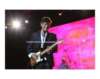 "Morten Harket of a-ha Concert Photo - 8"" x 10"""