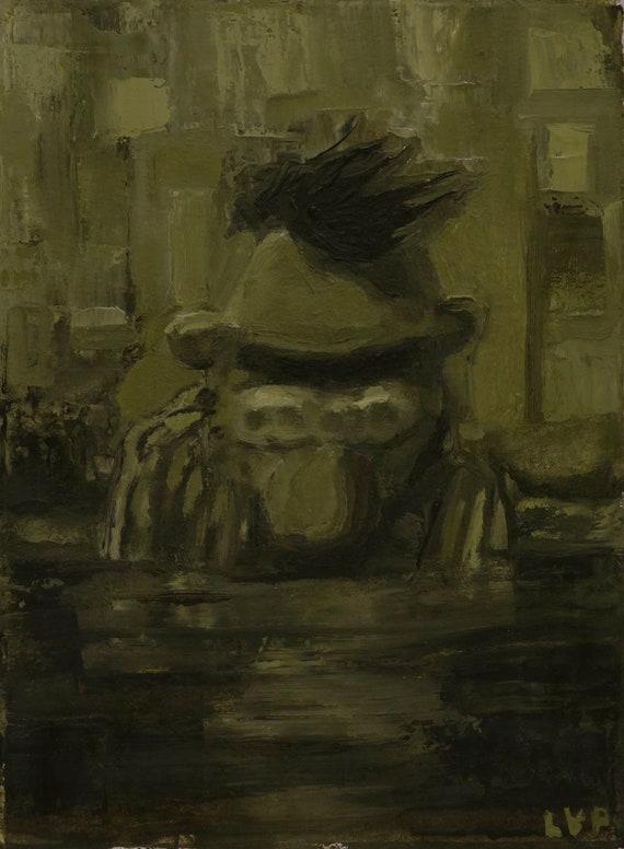 Untitled Oil Sketch