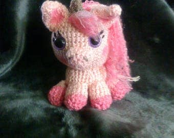 Crochet unicorn pegasus READY TO SHIP any colors you want