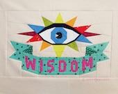 WISDOM tattoo quilt PDF pattern