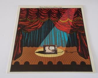 1974 - Monty Python Live at Drury Lane- LP Vinyl Record Album - 70's / Spoken Word / Classic British Comedy