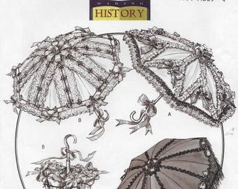 Butterick 4955 Making History Decorated Parisols and Covers Pattern by Rachel Wallis