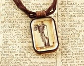 The Hermit - Tarot - Divination - Fortune Telling - Pendant Necklace
