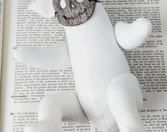 Wisp the Wick Wight, OOAK Art Doll