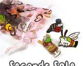 Enamel Pin SECONDS SALE - lapel pin brooch badge flair collar pin hat pin