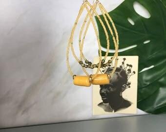 Olayia tribal earrings  African Wedding Ethnic Jewelry Tribal Jewelry  Bohemian  - AfricanEarrings - Afrocentric - African Jewelry Africa