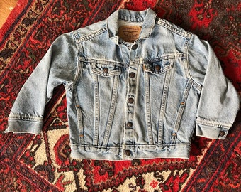 Orange Tab Vintage Kids Levi's Jacket