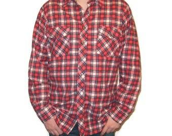 Mens flannel shirt | Etsy