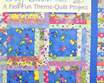 Dog Cabin and Others Quilt Book, by Kay Mackenzie, A Fast, Fun Theme-Quilt Project