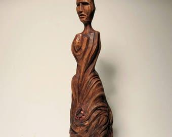 Primitive figurative sculpture