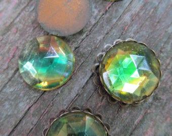 Vintage German Two Tone Crystal