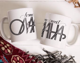 Home Sweet Omaha Mug