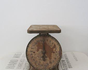 Vintage Farmhouse Rustic 25lb. Kitchen Scale