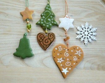 Christmas tree decorations and home decor