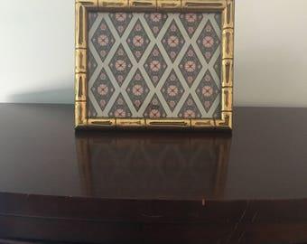 Bamboo Frame 8 x 10 | Chinoiserie