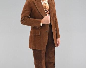 1970's Suede Fox Run blazer