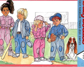 Butterick Busybodies 4246 Toddlers Jacket, Shirt And Pants, Size 1-2-3, UNCUT