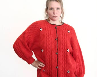 vintage folklore sweater