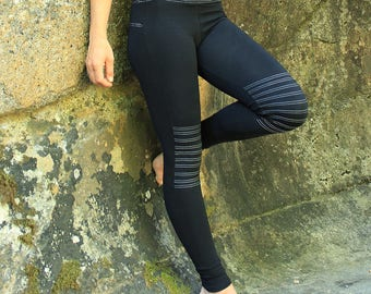 Victory Leggings-Yoga Leggings-Workout Leggings-Festival Leggings-Womens Pants-Black Leggings-Festival Clothes-Athletic Leggings-boho pants