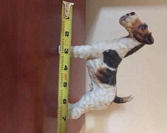 Wire fox terrier figurine #7733