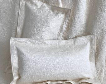 Quilted Pillow Sham - King Size