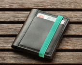 Leather Wallet - Handmade - Men's Wallet - Minimalist Wallet - Portemonnaie - Gift Ideas - For Him