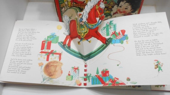 davey and the first christmas pop up book