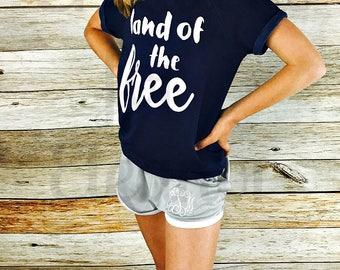 Girls 4th of July Tshirt, 4th of July T-shirt, Monogrammed Tshirt, Patriotic T-shirt,4th of July Shirt, America Tshirt, Merica Tshirt