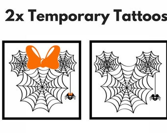 Temporary Tattoos Halloween Disney - Kids Temporary Tattoos - Halloween Disney - Temporary Tattoo Mickey Mouse - Temporary Tattoos Disney