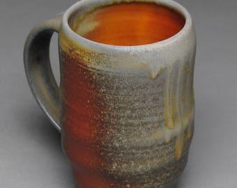 Clay Coffee Mug Beer Stein Wood Fired G95