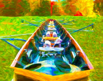 Rowing Shell, Rowing Boat, Crew Boat