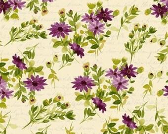 FRESH PICKED designed by Sue Zipkin for Clothworks - bty - Y2367-46