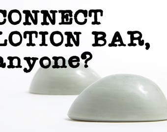 Solid Lotion Bar - Connect Scent - Lotion Bar - Egg Shaped - Gift for Her