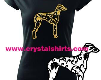 Azawakh silhouette T-shirt