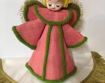 Christmas Angel Topper Mid-century Mod 1960s
