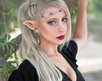 Elf ears 01 - FX - Latex prosthetic- For cosplay and LARP - Link / fairy / elf / or elven fantasy characters