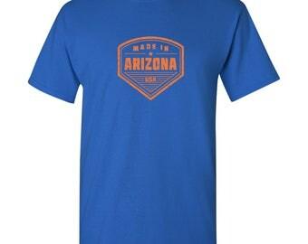 Made in Arizona T Shirt - Royal