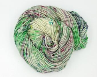 A Prairie Spring Superwash Merino DK Weight Hand Dyed Yarn
