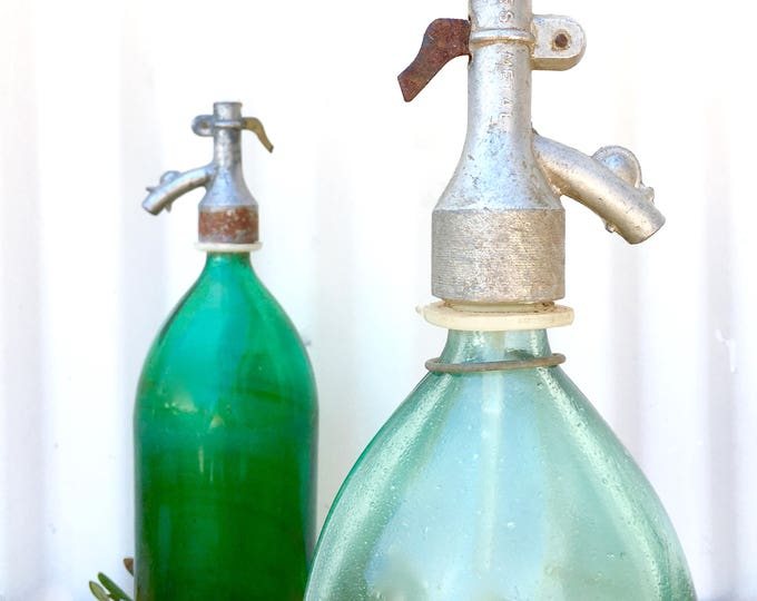Featured listing image: Vintage European seltzer bottle