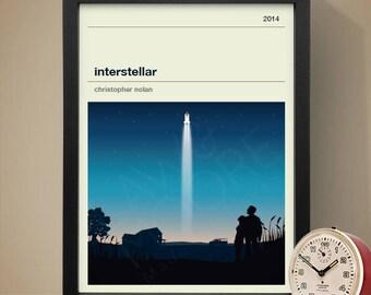 Interstellar Movie Poster - Movie Poster, Movie Print, Film Poster, Film Poster