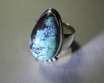 Ring, sterling silver, size 13 1/2...