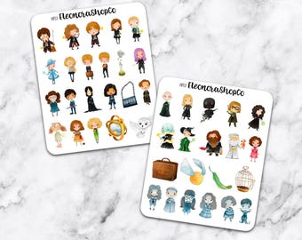HARRY POTTER STICKERS — hp13
