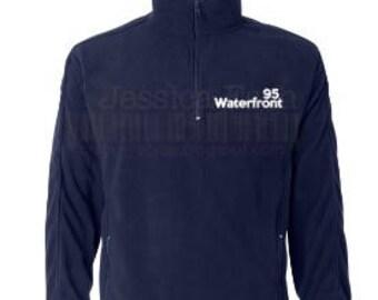 Waterfront 95 Custom Designed Fleece~ Block Lettering