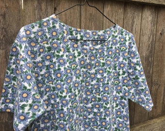90s Floral T Shirt