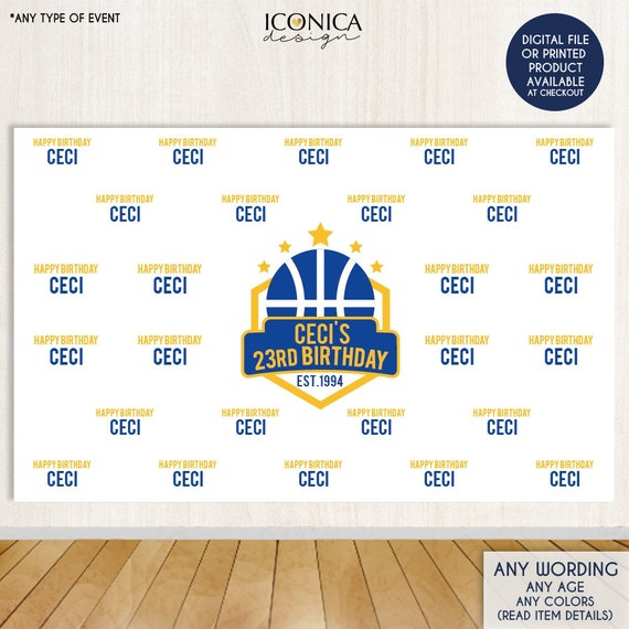 basketball photo booth backdrop custom step and repeat backdrop