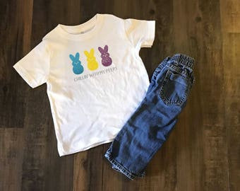 Chillin' With My Peeps Toddler Tee