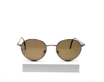 Prince's Tortoise Round Sunglasses with gold details - 90s - New old stock