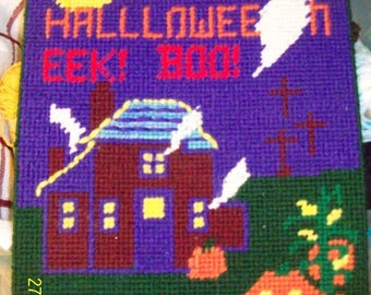 Halloween Wall Plaque!   Free Shipping!